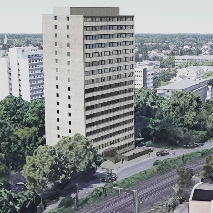Re-Development zu Studentenwohnheim in Bonn