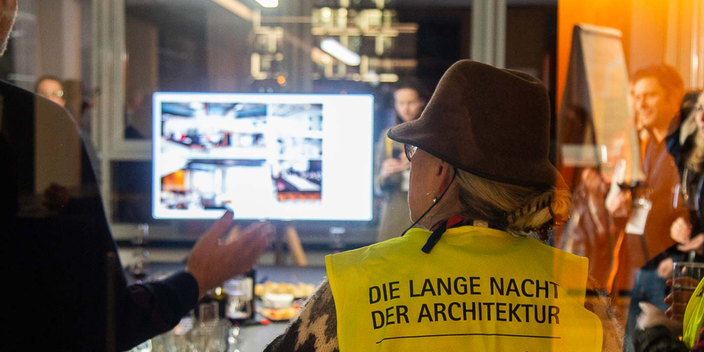 guided tour Lange Nacht der Architektur