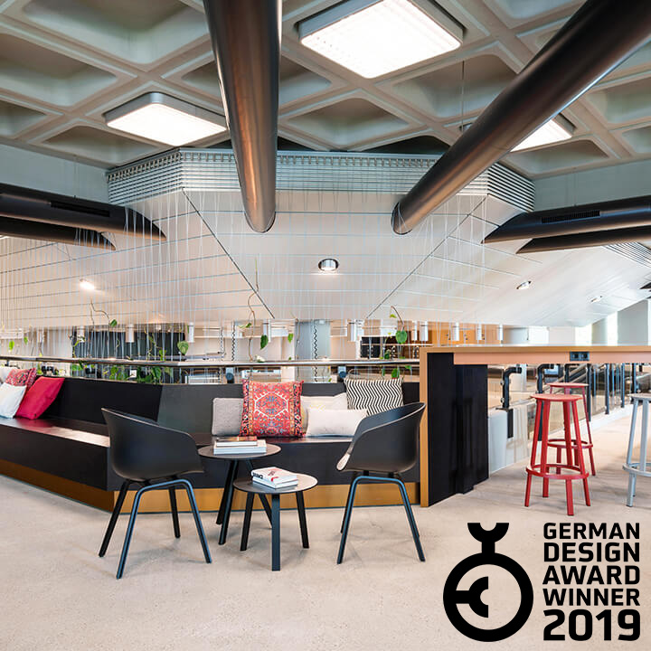 Cowork – Siemens Real Estate designed by DNA and CSMM – German Design Award Winner