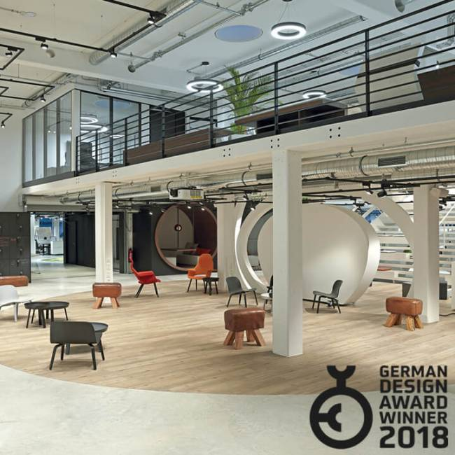 German Design Award 2018 für die Allianz Global Digital Factory
