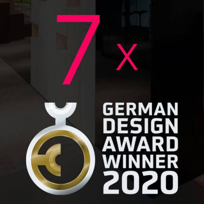 CSMM-ARCHITEKTEN GEWINNEN SIEBEN MAL DEN GERMAN DESIGN AWARD 2020